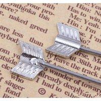الفضة السهم الحب مسمار الخواتم 16 جرام 38 ملليمتر طويلة الصناعية الحديد الفولاذ المقاوم للصدأ الجسم jljxi carshop2006