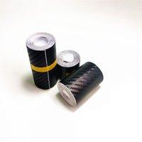 Nano Carbon Fibre Autocollant de voiture DIY Coller Protecteur Strip Auto Porte SILL SILL Miroir anti-rayures Film de protection étanche