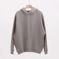 19ssis Double Hooded Design Hoodie Pullover Langarm Sweatshirts Straße Stil Hoodies Männer Frauen Hip Hop Beight Streetwear Größe S-XL