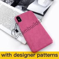 Étuis téléphonique de mode pour iPhone 12Pro Max 12 mini 11 xr xs max 7/8 PU en cuir de téléphone en cuir pour Samsung S20 S10 plus Note 8 9 10plus