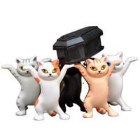 Kör Kutusu Sevimli Mini Kedi Kalem Tutucu Tabut Kalemlik PVC Meslekler Minyatürler Figurine Yaratıcı Ev Dekorasyon Aksesuarları Özel hediye