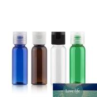 20ml X 50 Grün Mini Probe Leer Körperpflege Kunststoff-Flaschen löschen Reisen Kleines Hotel Flasche Lotion Öl Anzeige Container Cap