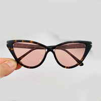 740 new style ladies sunglasses fashion trend retro style anti-ultraviolet lens cat eye plate full frame frame high quality free with packag