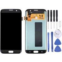 Оригинальный ЖК-дисплей с сенсорной панелью для Galaxy S7 Пограничный G9350 G935F G935A G935V