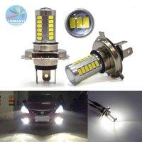 Faróis de carro 2 x H7 H11 H4 33smd LED 5630 5730 Farol High Power Power Light Lâmpada 12V Beam para Light1