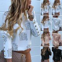 Женские блузки рубашки женские длинные рукава тонкий блузка осень весенний печать костюм пальто рабочая зима элегантные формальные офисные деловые вершины блузки
