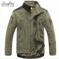남자 재킷 남성 전술 의류 가을 겨울 양털 군대 자켓 Softshell 사냥 스타일 재킷 1