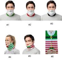 Chirstmas Face Shield Bandana Face Mask Outdoor Sports Bandana Mask Magic Headscarf Headband Visor Neck Gaiter Christmas Decoration Gifts