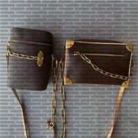 sac de mode féminine. Sac en cuir de la chaîne de matériel imprimé cuivre antique, sac à main, mini sac, sac à bandoulière, sac à main