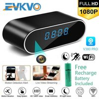 EVKVO 1080 P HD Saat Kamera Wifi Kontrol Gizli IR Gece Görünümü Alarm Kamera PK Z10 Dijital Saat Video Kamera Mini DV DVR1