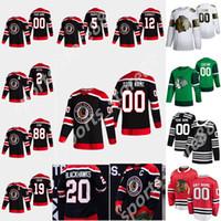 Chicago Blackhawks 2021 Retro Retro Hockey Jersey 30 Cam Ward Ryan Carpenter Kirby Dach Mackenzie Entwistle Matthew Highmore Custom Stitch