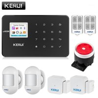 KERUI G18 GSM Alarm System Security APP Wireless Home Burglar Alarm Fire Protection Motion Sensor Security DIY Kit1