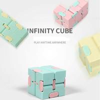 Fidget Toys Toys Finger's de los niños descomprime Portátil Portátil Magic Plaza Antistress Toys Infinity Cube Puzzle Sensory Juguetes