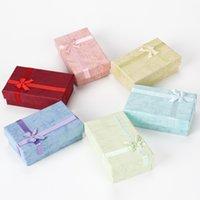 5 * 8 패션 쥬얼리 상자 카톤 멀티 컬러 포장 선물 상자 반지 목걸이 여자 남자 컨테이너 결혼식 0 5RS K2