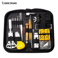 Leecnuo 148/16 PCS-uhr-Reparatur-Tool-Kit-Metall-Anpassung Set Band-Hülle-Öffner-Link Federbar Remover WatchMaker Tools Watch1