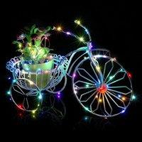 1M-3M Batterie Lichterketten LED-String-für Hochzeit Weihnachten Verpackung Dekoration Batterie führte Lichterketten Powered