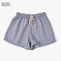 Bzel gris pantalons filles pyjama shorts cotten homewear sommeil vêtements courts pantalons lâche pijama féminino été salon d'été adolescent1