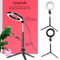 LED Studio Camera Ring Light Photo Phone Video Light Annular...
