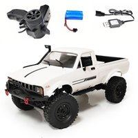 NewWST WPL C24 Actualización C24-1 1:16 RC Coche 4WD Control de radio Off-Road Mini Coche RTR Kit Rock Crawler Buggy Buggy Machine 201105