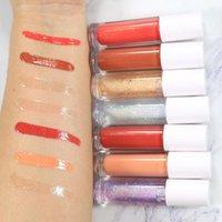 Lip Gloss Klare Bulk Private Label Kosmetik Lipgloss Großhandel Öl Glitter Flüssig Lippenstift Machen Sie Ihren eigenen Anlasser