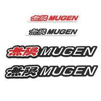 Pegatina de coche Mugen Emblema Insignia Calcomanía para Honda Mugen Accord Piloto Cívico Odyssey Ciudad CRZ Espiral Avancier CRV Crosstour H-RV NSX