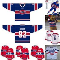 2020-21 Montreal Canadiens Jersey Nick Suzuki Shea Weber Brendan Gallagher Jesperi Kotkaniemi Carey Price Jonathan Drouin Hóquei Jerseys