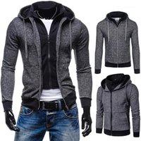 Jaquetas masculinas moda outono outono inverno casual botão de bolso térmico jaqueta de couro térmico casaco chifre fivela homens bolsos sólidos z7091