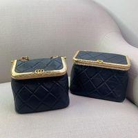 Genuine Designers Clutch Shoulder Leather Quilted Designer Black Crossbody Purses Luxurys Handbags Women Wallets Bags Rxtp Chain Bag Go Jhah