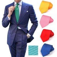 Candy Color Ties For Men Donne Poliestere Cravatte Crablatte Crablatte da uomo Collo Cravatta 8cm Larghezza cravatta Skinny Solid Cracktie per feste di nozze T200805