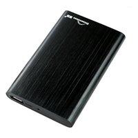 HDD Blorensless HDD Disco rigido esterno 1 TB Alluminio SATA USB 3.0 Disco rigido portatile Disco rigido Duro Duro Externo con 2,5 'HDD Enclosure1