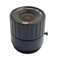 """Lente della fotocamera CCTV di JienUo IR Lens 4MM CS Lens 3MP per telecamere HD Security F2.0 Formato immagine 1 / 2.5 """"Supporto a infrarossi1"""