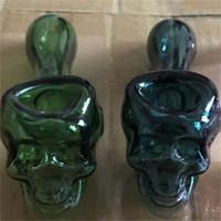 Tubo de vidrio de moda Alto Borosilicato Gafas Diseño de calavera Multi Colores Handicraft Hand Spoon Tubos Fumadores Herramienta Herramienta Venta Caliente 15RP L2