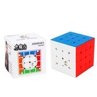 Neue original yuxin wenig magie 4x4x4 m magnetischer cube 60mm professionelle zhisheng 4x4 speed cube twist pädagogische spielzeug für kind y200428