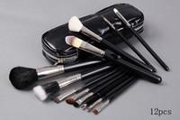 Nuovo BUONA QUALITÀ Pennello da trucco più venduto 12 pezzi Set Pennello professionale Brush