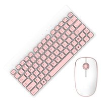 Keyboard Souris Combos Wireless Silent Ultra-mince Combo ensemble pour Office Home Laptops PC