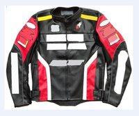 2021 Sıcak Stil Deri Off-Road Motosiklet Sürme Ceket erkek Su Geçirmez Motosiklet Yarışı Ceket
