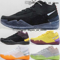 كرة السلة حجم كرة السلة الولايات المتحدة 2020 جديد وصول رجل 46 47 تنس النساء أحذية الأطفال AD NXT 360 38 حذاء رياضة EUR المدربين Scarpe 13 Mamba 12 أسود