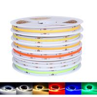 柔軟な穂軸LEDストリップライトDC12V FOB 10mm高密度調光対象テープ赤緑青自然温暖かい冷たい白いリボンCE