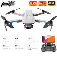 GPS DRONE 4K Professional con cámara dual 5km Larga distancia sin escobillas 30mins 5G WiFi FPV Quadcopter DRON PK SG906 201125