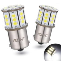 AGLINT 2 STÜCKE 1156 LED-Birne 2835 33-EX-Chips P21W BA15S für Backup-Rückfahrlampen-Rückleuchten, Blinker Lichtweiß 12 / 24V1