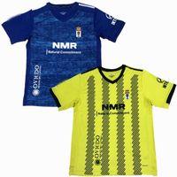 Новые 2020 2021 Реальные футбольные трикотажки Oviedo Home Отель 20 21 футбольная рубашка