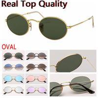Tasarımcı deri çanta, bez, perakende paketleri ile kadınların insan için oval yuvarlak metal gerçek en kaliteli marka moda güneş gözlüğü güneş gözlüğü !!