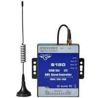 أنظمة الإنذار King Pigeon GSM 3G الخلوية RTU SMS التبديل التبديل الصناعية IOT نظام المراقبة عن بعد IOM 8DIN 2DO S150 (EU Plug) 1