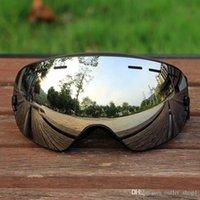 نظارات التزلج نظارات كبيرة كروية مزدوجة الطبقات uv400 مكافحة الضباب قناع التزلج كبير الرجال النساء نظارات التزلج على الجليد نظارات الشتاء نظارات