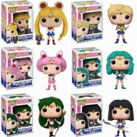 Funko Pop Sailor Moon Figure Ornament Action Models Collectible Toys for Children Gift Q0522
