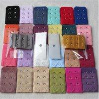 3 file 1,2,3,4,5 ganci Bra Extender Strap Womens reggiseno senza spalline estensione cinghie regolabili Cintura Maternità Underwear MulticolorLY10143