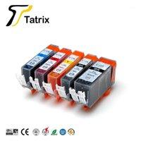 Tatrix Compatible pour Canon PGI125 CLI126 CARTOUDIGE D'ENCRE POUR CanON PIXMA MG6110 MG6210 ETC.1