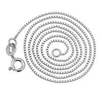 Collar de plata esterlina s925 mujeres moda fina plata joyería joyería collar de plata cien cadenas a juego joyería de comercio exterior al por mayor