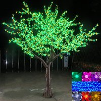 3M Shiny LED Cherry Blossom Christmas Tree Lighting Waterpro...