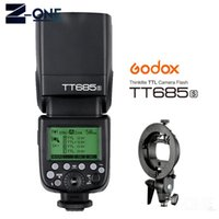 Godox685S 2.4G HSSL كاميرا فلاش Speedlite + بوينس القوس لA77II A7RII A7R A99 A58 A6500 A6000 A6300